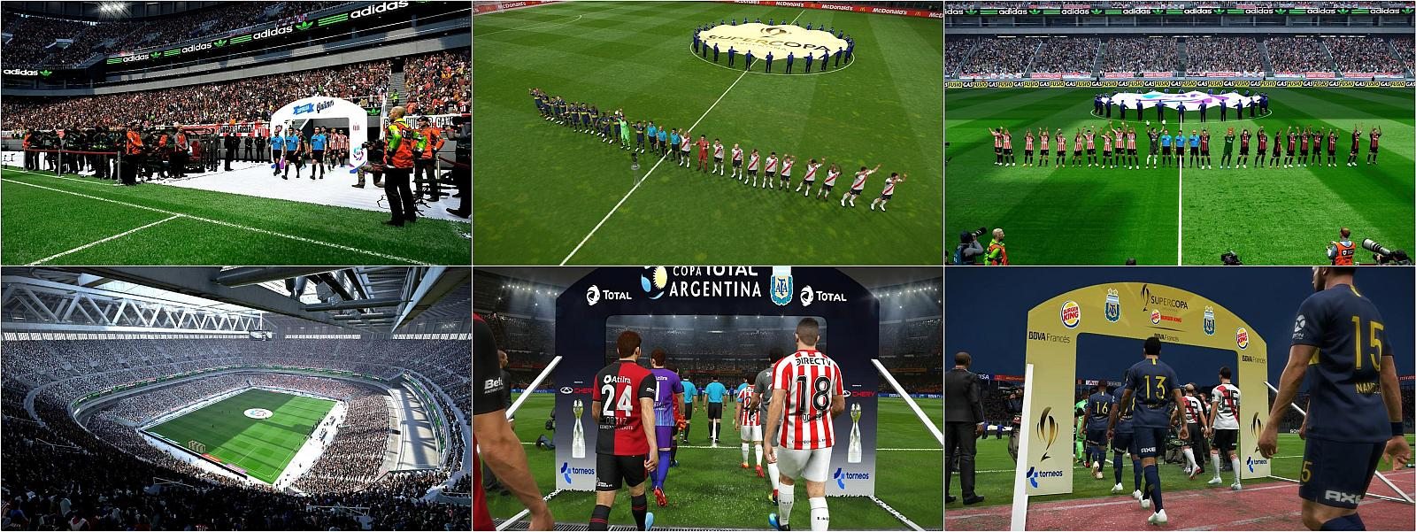 PES 2019 Entrance Scene Argentina Leagues by Nahue