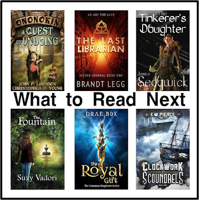 Find a little bit of fantasy here to quench your summer need to read.  You'll find some adventure to keep your mind working while you rest at the beach, by the pool side, or hiding in the closet from the kids.