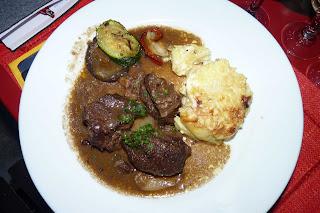 Restaurante Le bec figue, plato principal.