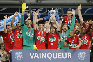 FÚTBOL - El PSG salva la temporada con la Copa de Francia