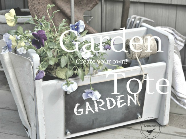 Garden tote gift for MOM
