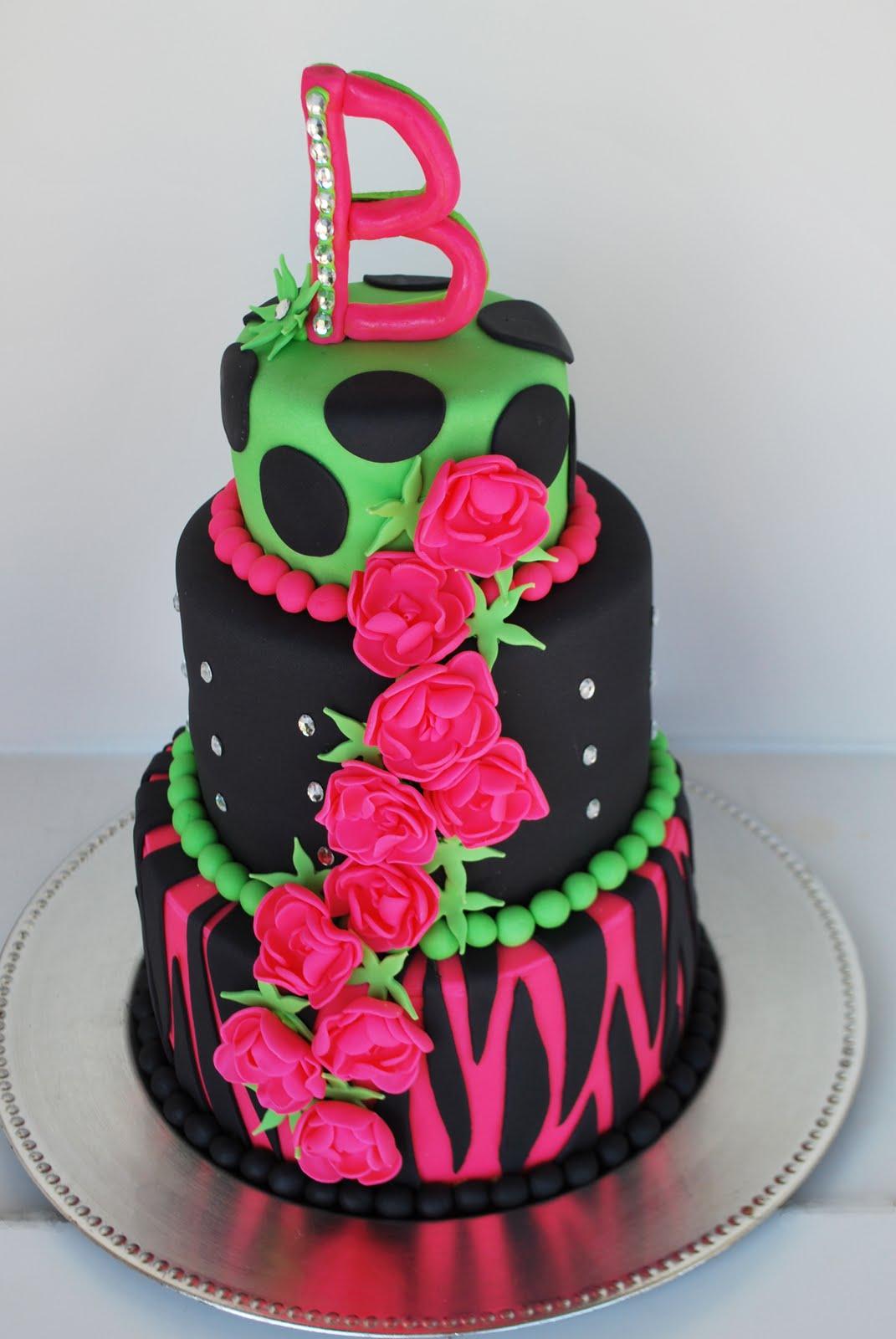 Cake Studio Rock Star Birthday Girl