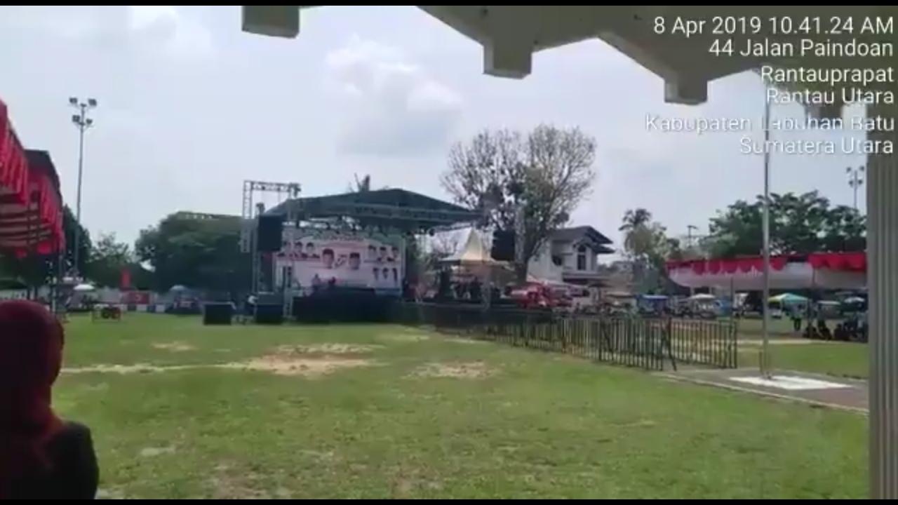 Pemandangan Miris Kampanye 01 di Sumut