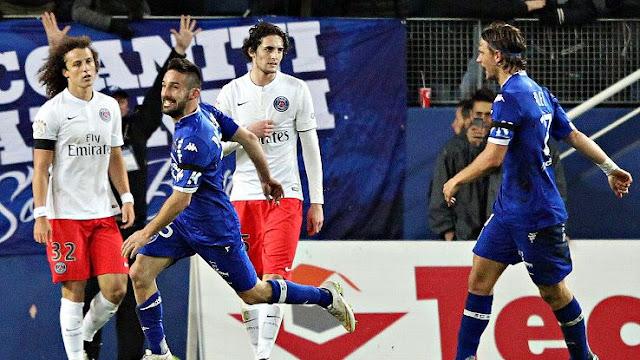 Paris Saint Germain vs Bastia