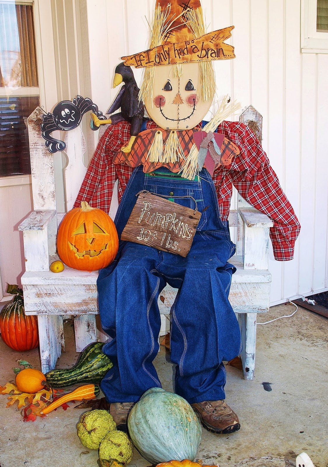 Ohio Thoughts Building A Scarecrow