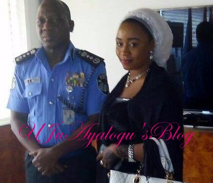 EXPOSED: Photo of Female Police Offer Allegedly Impregnated, Married Secretly By IG; ...Her Family Reacts