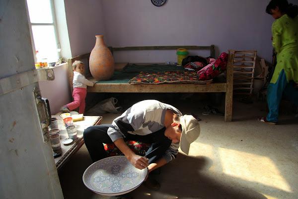 Ouzbékistan, Richtan, céramiste, tapshan, tapchane, © L. Gigout, 2012
