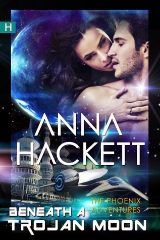 Beneath a Trojan Moon by Anna Hackett