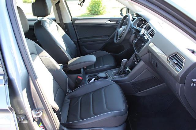 Volkswagen Tiguan 2019 Flex 7 lugares - interior