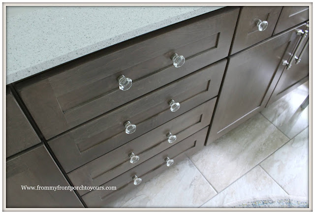 Master Bathroom Makeover-Reveal-Crystal Drawer pulls-Cabinet Hardware-French Country-Cottage Style-From My Front Porch To Yours