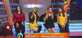 Las Bandana hoy, durante una entrevista en Intrusos