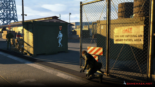 Metal Gear Solid V Ground Zeroes Gameplay Screenshot 4