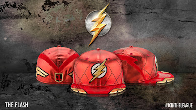 Justice League Movie Character Armor 59Fifty Fitted Hat Collection by New Era x DC Comics - The Flash