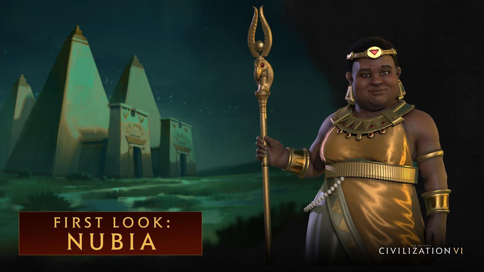 Civilization VI presenta a Kandake Amanitore de Nubia