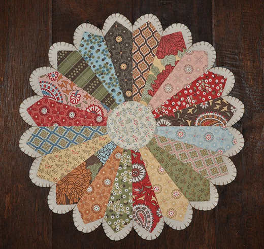 Plate for Your Table Quilt Free Tutorial
