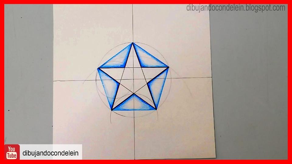 Dibujando Con Delein Como Dibujar Una Estrella De 5 Puntas Usando Un Pentágono Como Báse