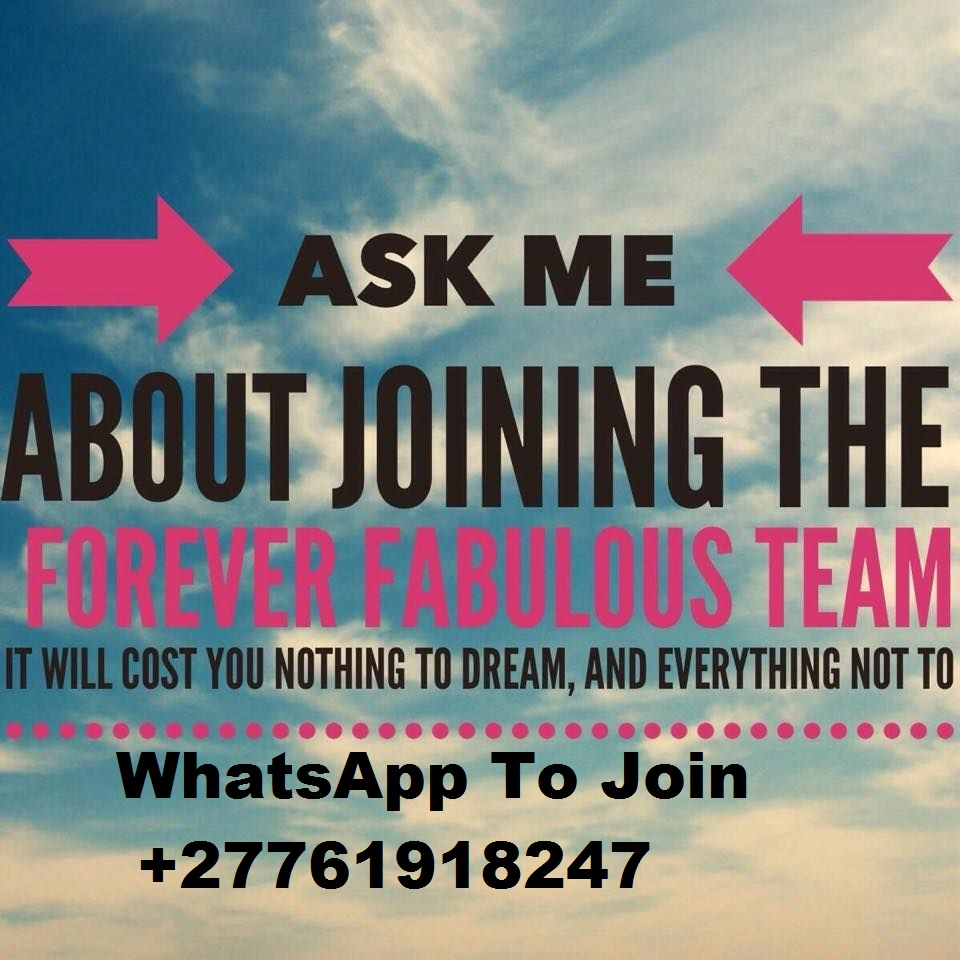 Join my forever  living team