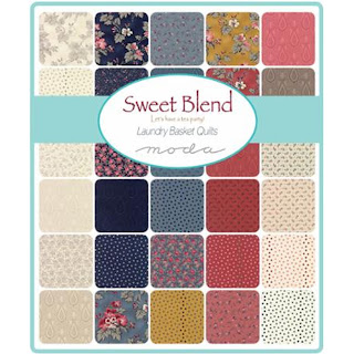 Moda Sweet Blend Prints Fabric by Laundry Basket Quilts for Moda Fabrics