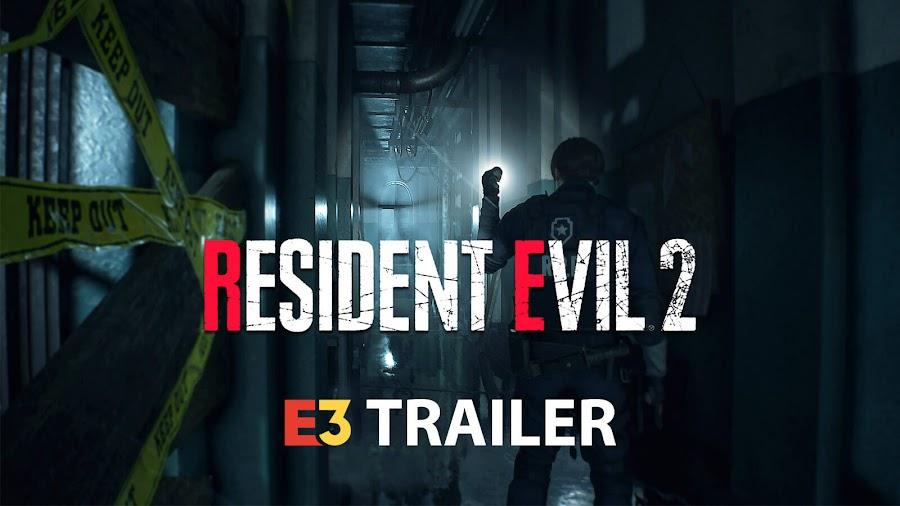 resident evil 2 remake e3
