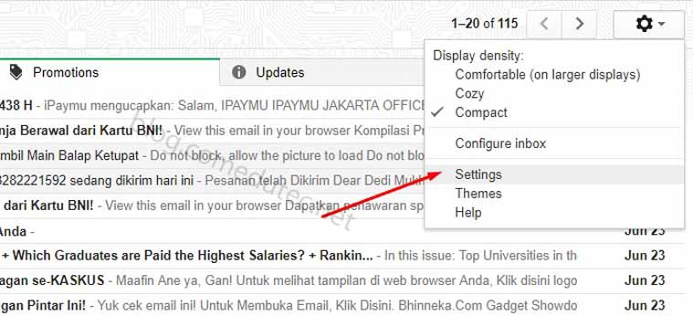 Tutorial Membuat Tanda Tangan di Gmail