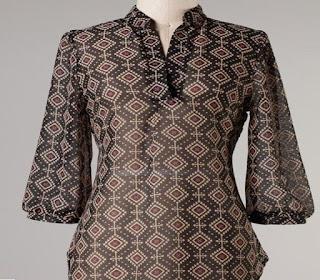 baju batik wanita untuk orang gemuk