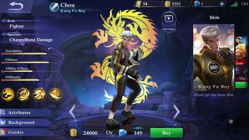 "Chou ""Kung Fu Boy"" Skin Remade"