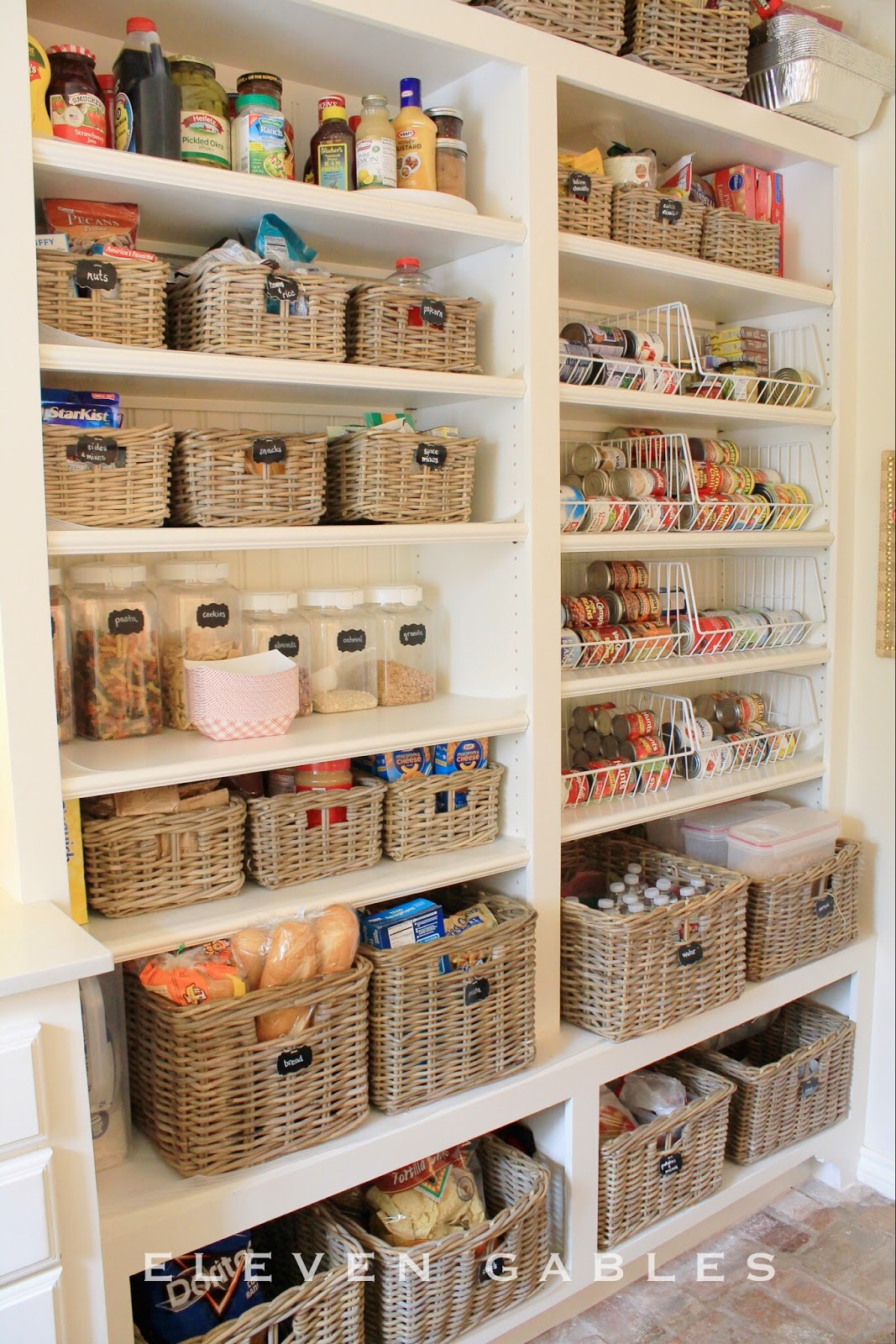 Kitchen Basket Storage Country Chair Cushions 15 Organization Ideas
