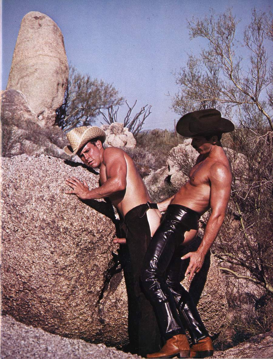 Gay Bear And Vintage Porn Shrine Theme Cowboys-5923