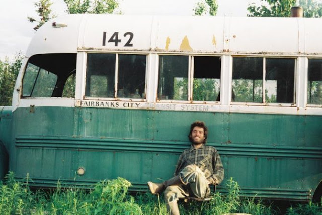 film; into the wild; green bus