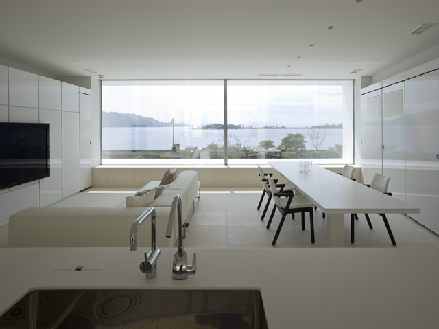 Dise o de interiores y decoracion casa minimalista dise o for Casa minimalista interior cocina