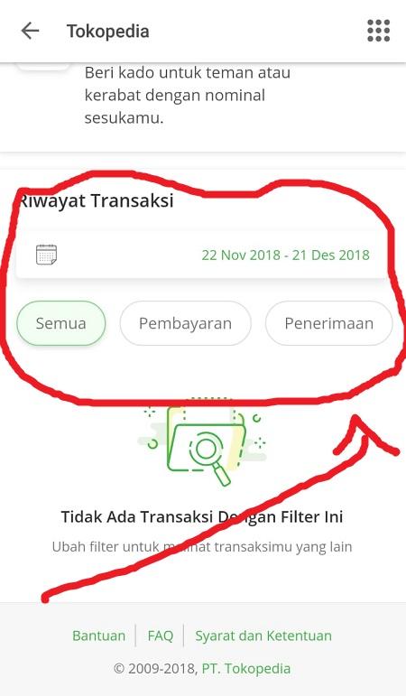 Halaman Awal Tokopedia