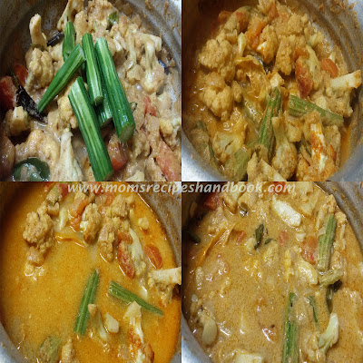 Cauliflower And Drumstick Masala Gravy