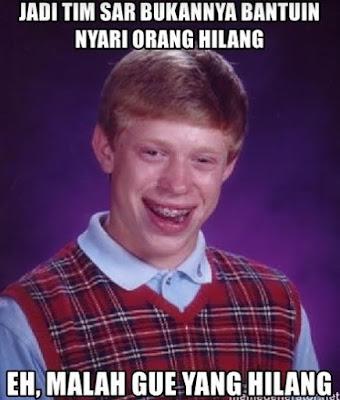 6 Meme Lucu 'Tim SAR' Ini Bikin Ketawa Ngakak Minta Tolong