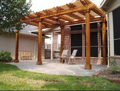 Detached Patio Cover Plans On Home Decor