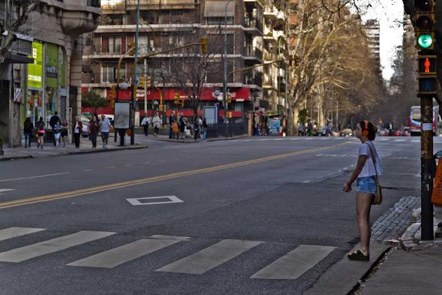 Vista Avda.Las Heras_Buenos Aires