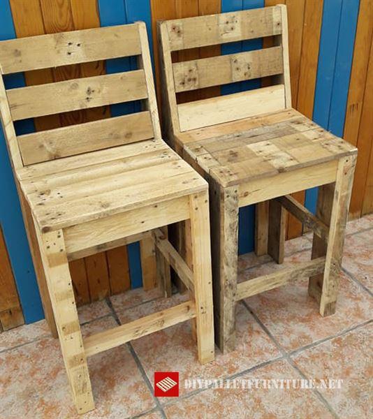Sillas for Fabricacion de bares de madera