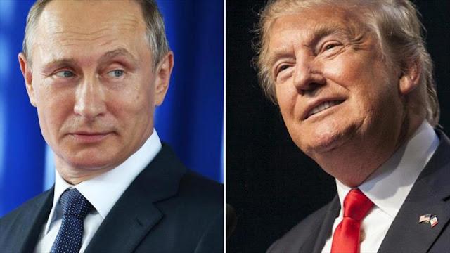 Putin se mofa de acusaciones de espionaje a Trump en Moscú