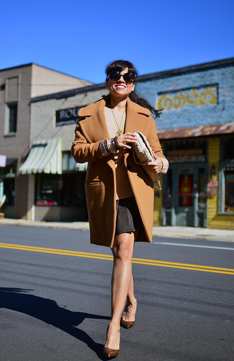 Cocoon coat street style