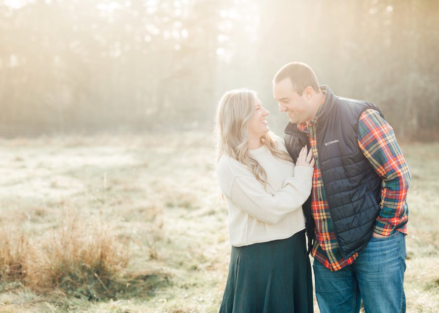Fall Engagement Session-Farm Proposal Photos-Something Minted Photography
