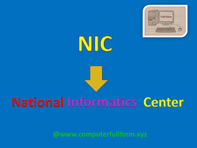 NIC Full Form