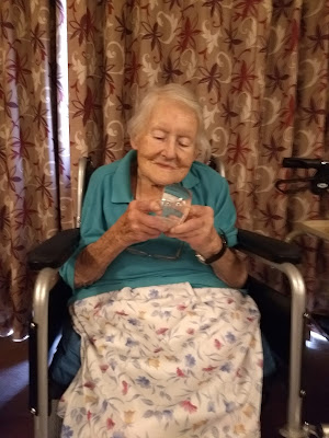 Ruth with her Queen's Award for Voluntary Service