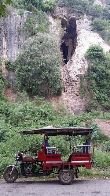 Bat cave en Battambang - Camboya
