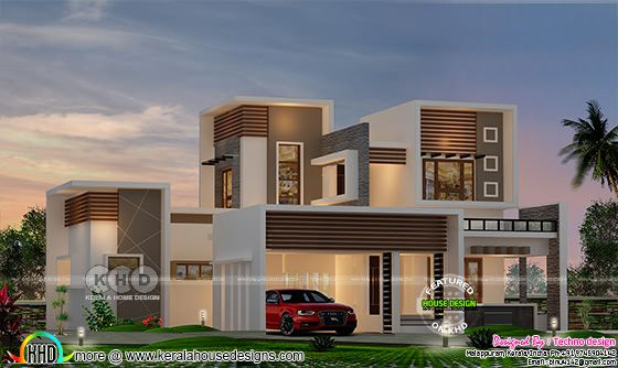 2766 square feet 4 bedroom contemporary house