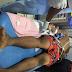 MPNAIJA GIST:Actress, Tonto Dikeh rescues unidentified man thrown out of a speeding keke napep in Abuja