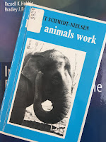 How Animals Work,  by Knut Schmidt-Nielsen, superimposed on Intermediate Physics for Medicine and Biology.