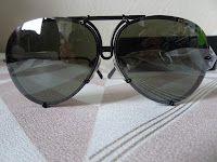 porsche p8478 sunglasses black frames