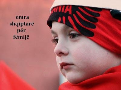 EMRA SHQIPTARE PER FEMIJE