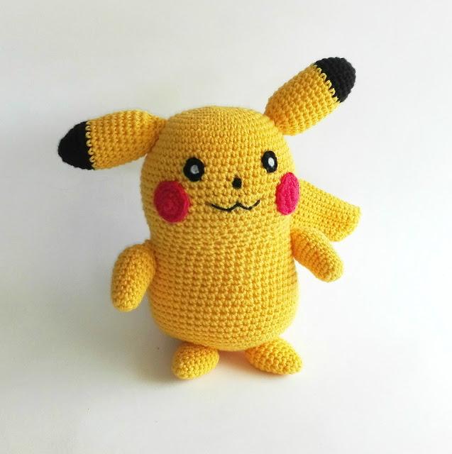 personaje-picachu-amigurumi
