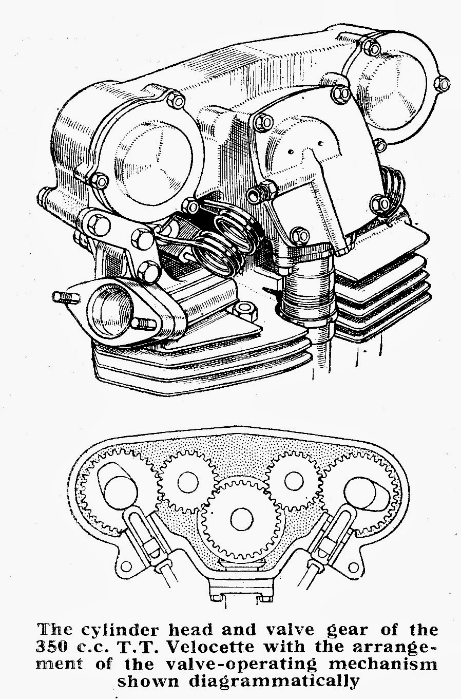 The Velobanjogent A Visit To Fellside Cottage Home Of Ivan Mazda Millenia Engine Diagram Rhodesmr Velocette So Many People Worldwidepart 2