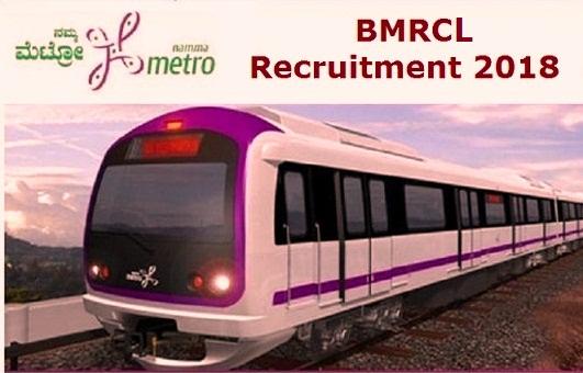 bmrcl recruitment notification